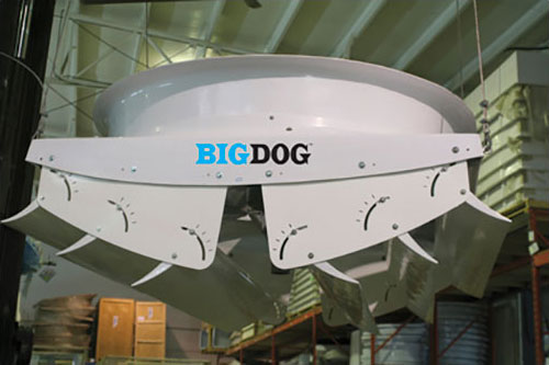 72″ Big Dog Misting Fan
