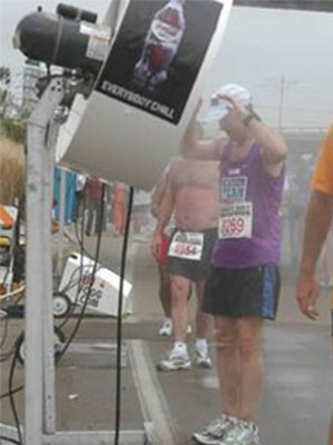 Cool Zone Provides Misting Fans to the Rock & Roll Marathon, San Diego
