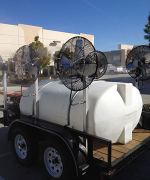 Misting Fans for Events