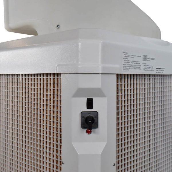 WayCool 1Hp Evaporative Cooling Unit Oscillating Unit