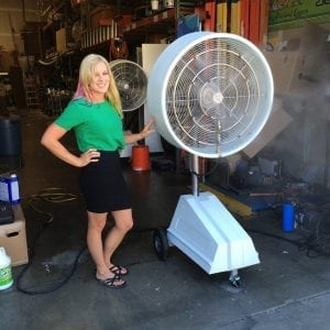 Explosion Proof Misting Fan