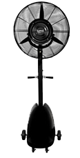 "Air Fogger 26"" Misting Fan"