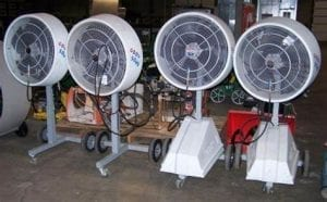 High Pressure Misting Fan