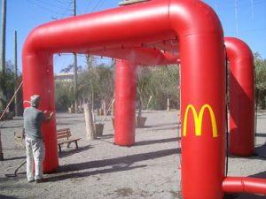 McDonalds Mid Pressure Misting Pavillion
