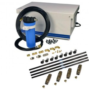 Cool Zone Farm Misting Commercial Pulley Drive Stainless Kit